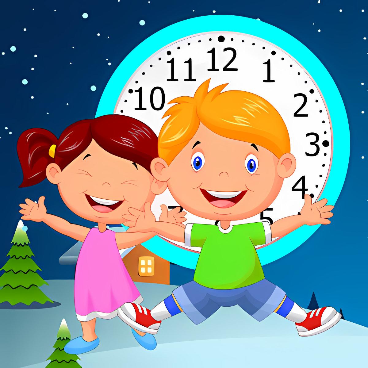 Aprender Reloj para niños