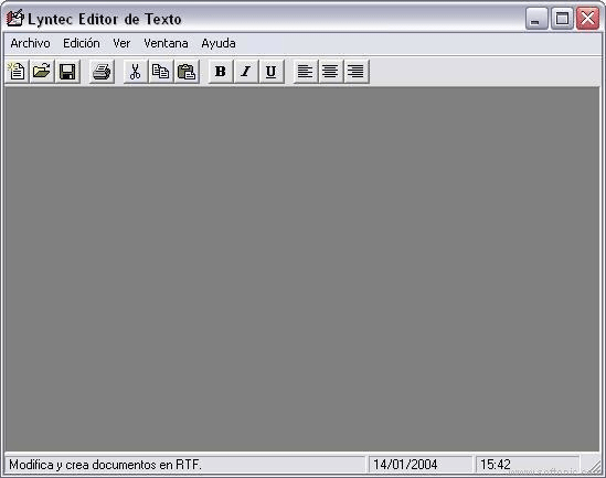 Lyntec Editor Text (LET)