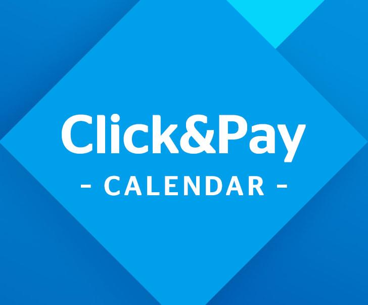 Click&Pay Calendar 2017