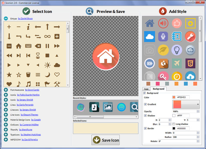 Iconion Icon Maker