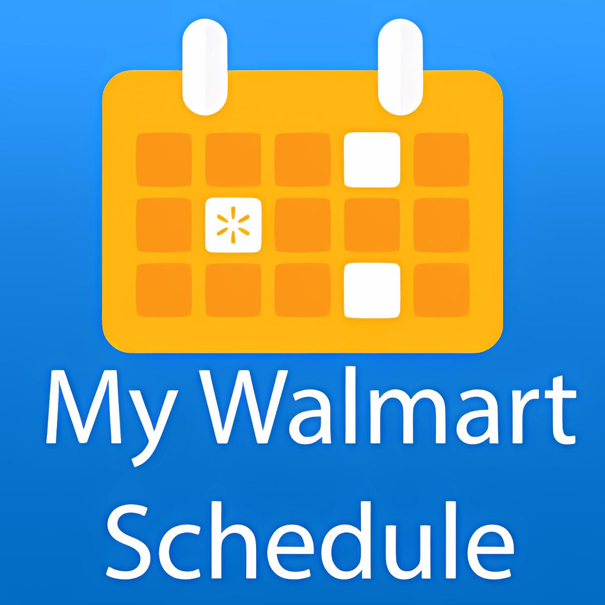 My Walmart Schedule 1.13.8.113000009