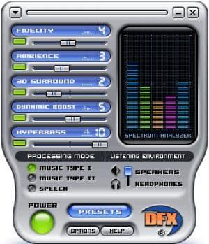 DFX (MusicMatch)