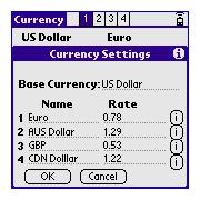 Dave's CurrencyCalc