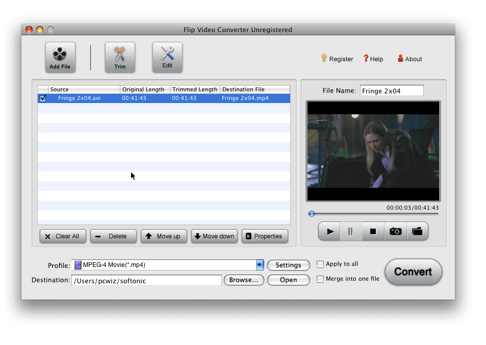 iOrgSoft Flip Video Converter for Mac