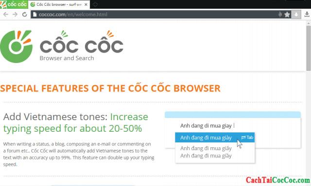 Côc Côc browser