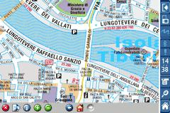 Rough Guides Map Rome