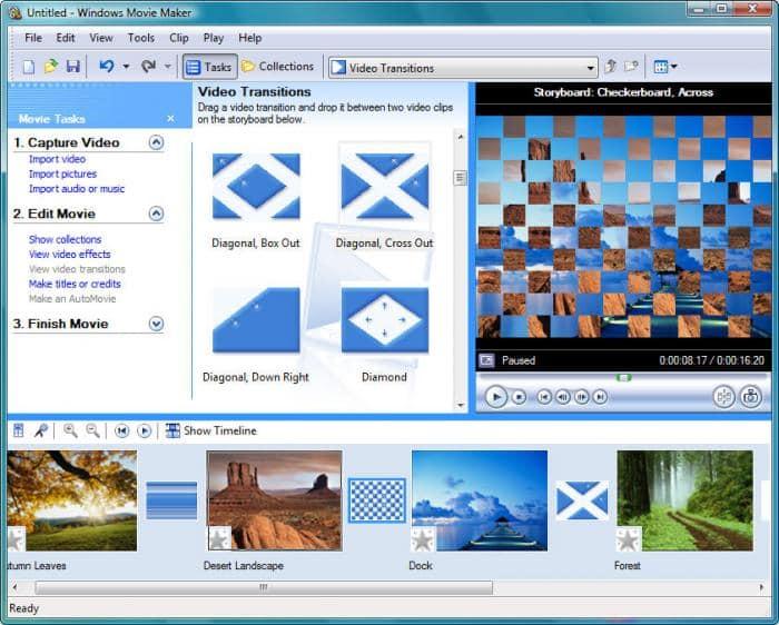 Windows Movie Maker(ウィンドウズムービーメーカー)