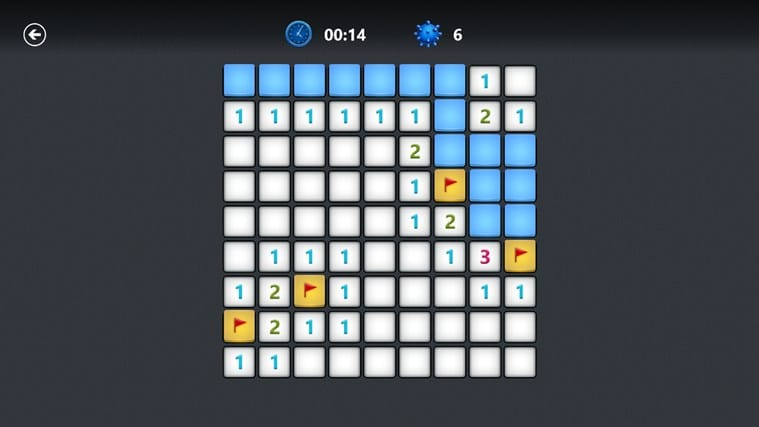 Microsoft Minesweeper pour Windows 10