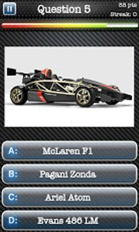 Car Quiz Game