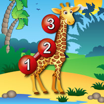 Kids Animal Connect the Dots Puzzles