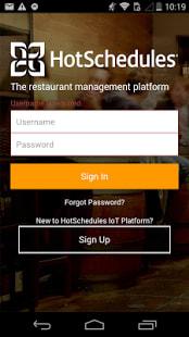HotSchedules Dashboard