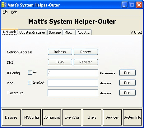 Matt's System Helper-Outer