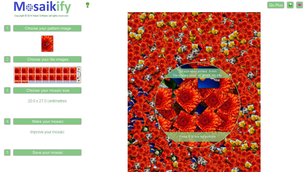 Mosaikify