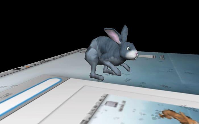 3D Desktop Bunny Rabbits Screen Saver