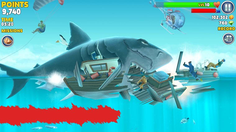 Hungry Shark Evolution for Windows 8