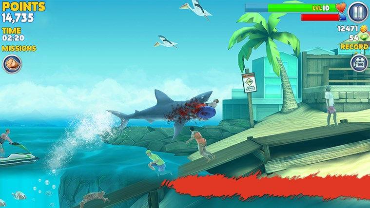 Unblocked shark fishing games gamesworld for Unblocked fishing games