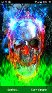 Metal Skull Electric Shock LWP