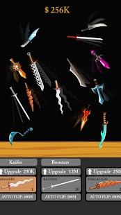 Idle Knife Flipper - flip flippy knifes