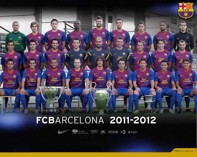 Tapeta FC Barcelona 2011-2012