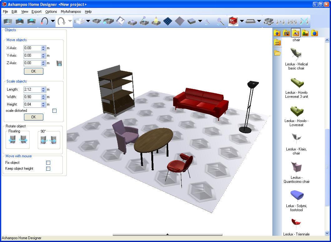 Ashampoo Home Designer Pro. VOOR