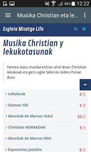 Musika Christian Lekukotasunak