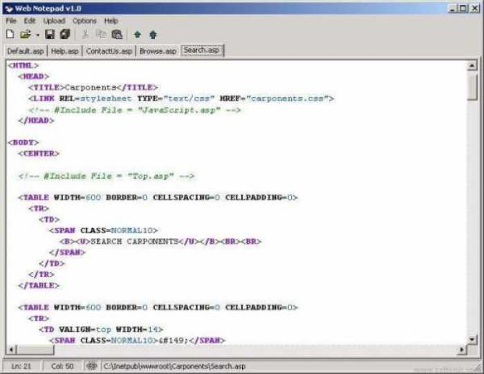 Web Notepad