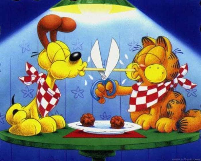 Wallpaper Garfield und Odie