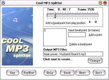 Cool MP3 Splitter