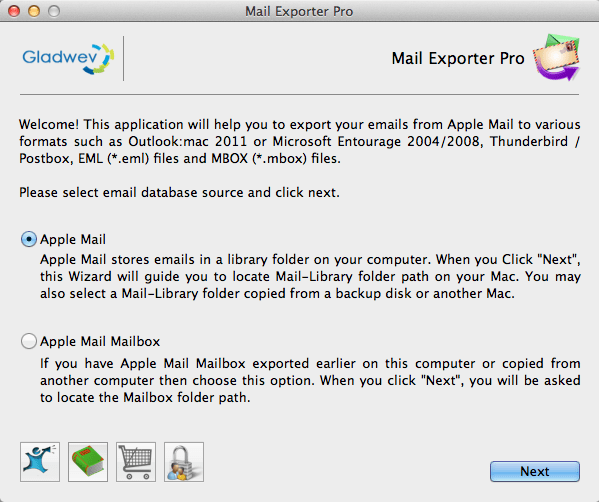 Apple Mail Migration Tool