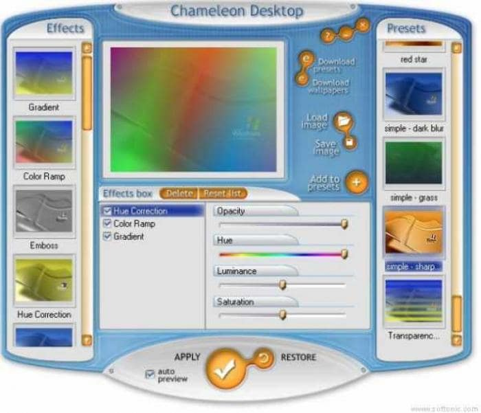 Chameleon Desktop