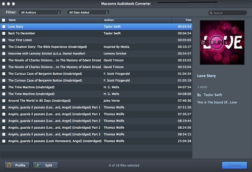 Macsome AudioBook Converter for Mac