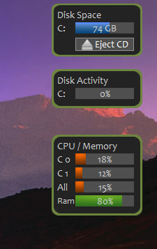 Disk Activity Gadget 1