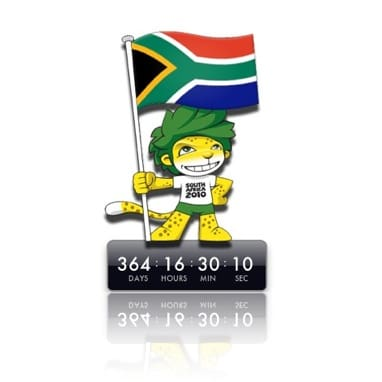 2010 FIFA World Cup Countdown Widget