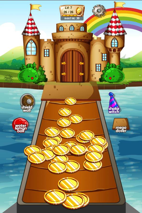 Coin Dozer - Kingdom Castle