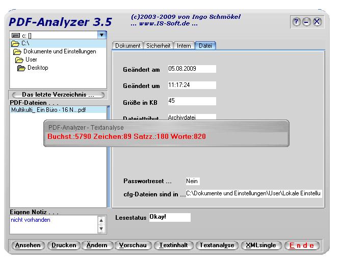 PDF-Analyzer
