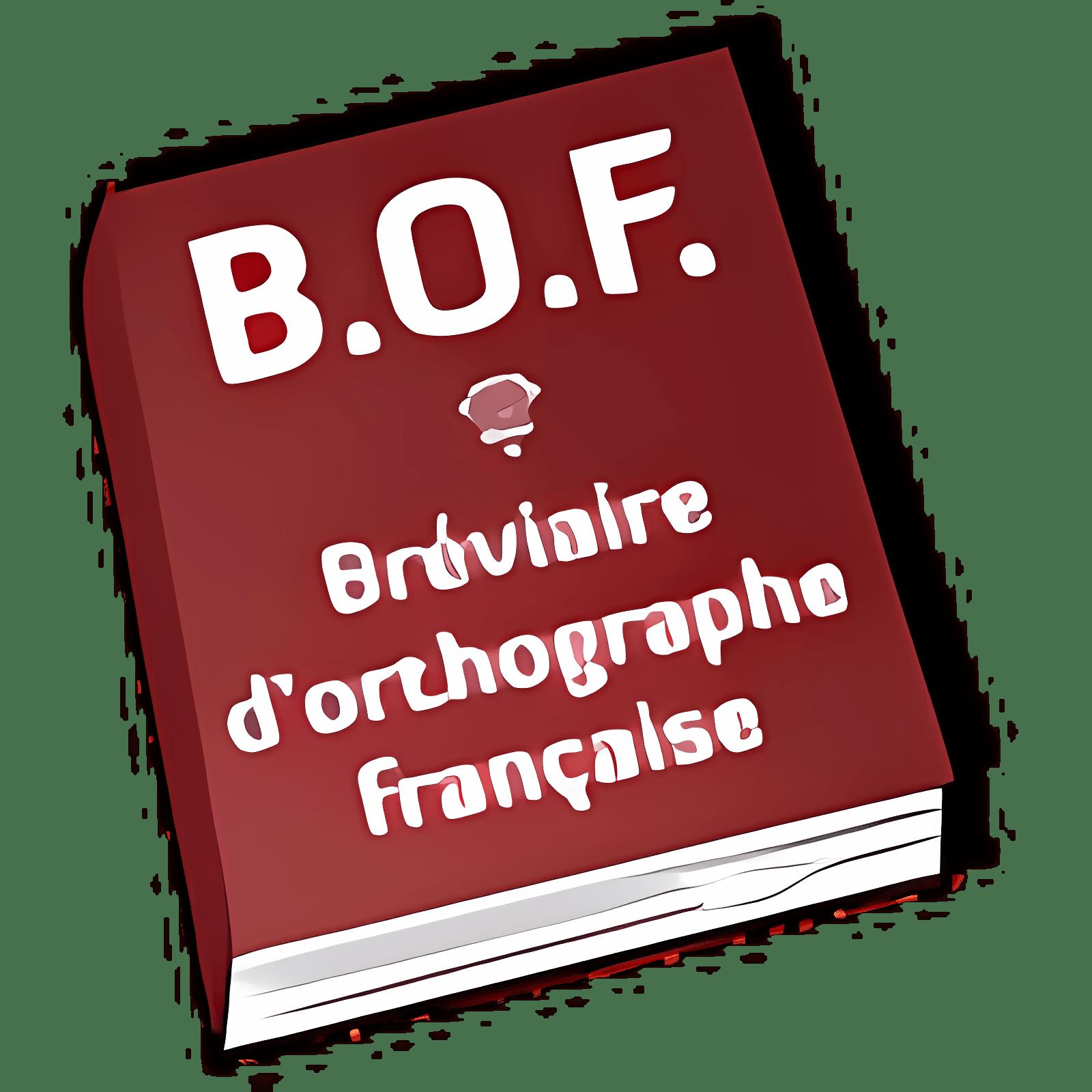 Bréviaire d'orthographe française