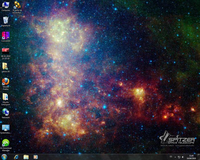 NASA Hidden Universe Windows 7 Theme Pack