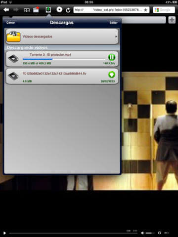 VideoBrowser for iPad