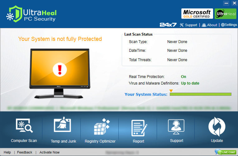 Ultraheal PC Security