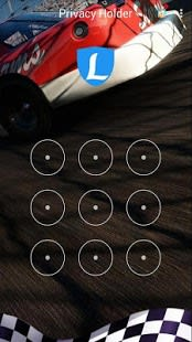 AppLock Theme Race Car