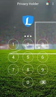 AppLock Theme Woman Soccer