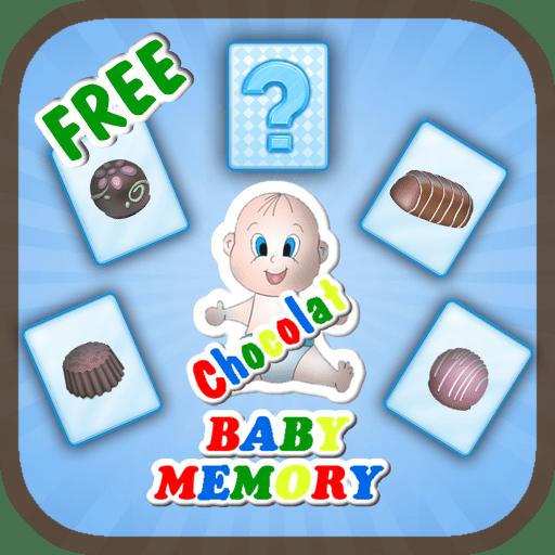 Juego de Memoria para niños con chocolatinas