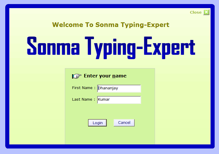 Sonma Typing-Expert - Download