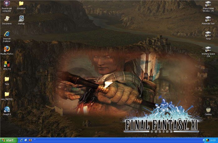 Microsoft Final Fantasy XI Theme