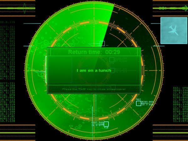 Radar Screensaver