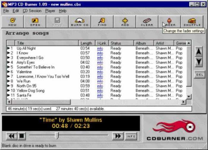Acoustica MP3 CD Burner