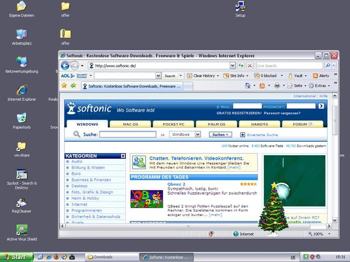 Desktop Christmas Tree