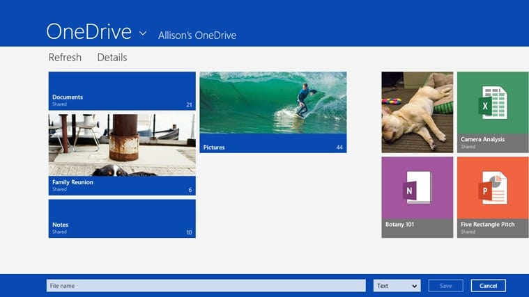 OneDrive para Windows 10