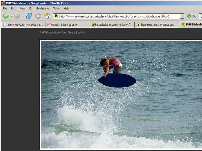 PHP Slideshow