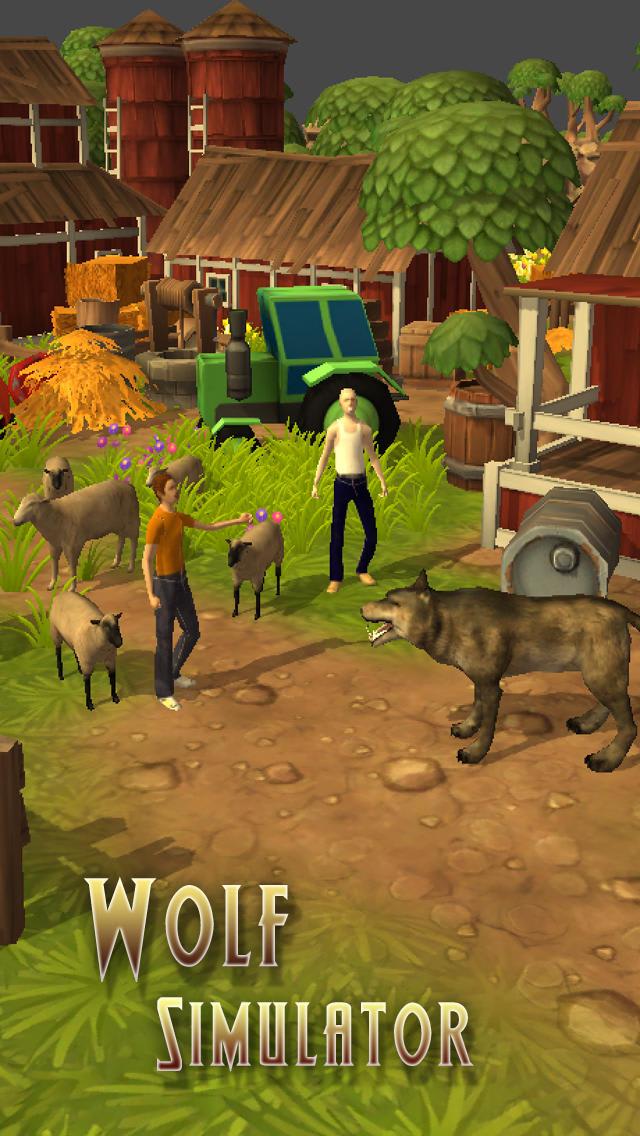 Wolf Simulator Pro